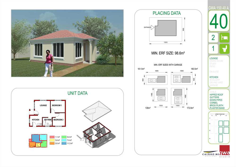 2 Bedrooms Houses for Sale in Jukskei View Plans